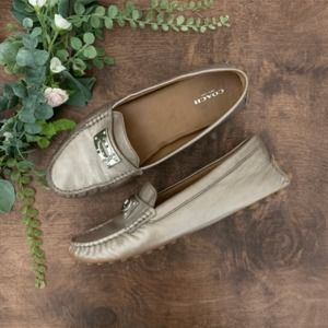 Coach Napoleon Loafers in Champagne | Size 9B